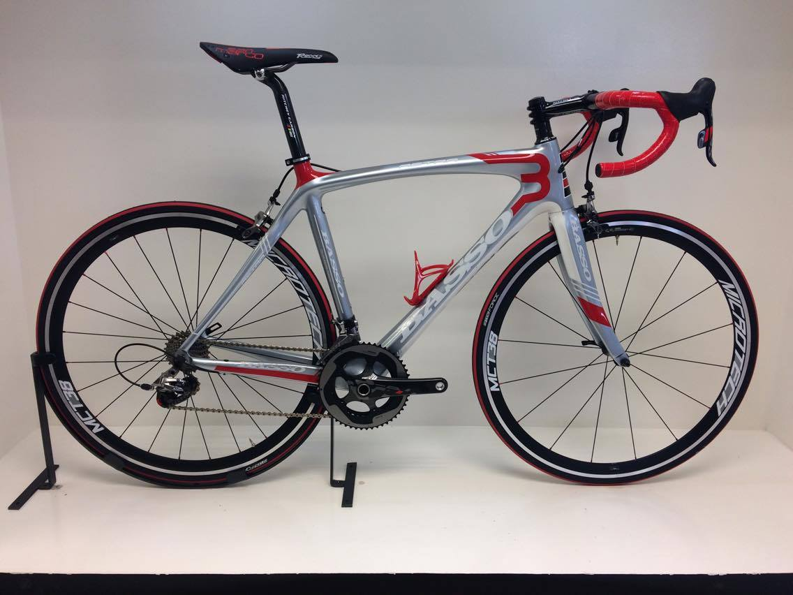 Basso Astra 2014 Mercedes Silver/Red