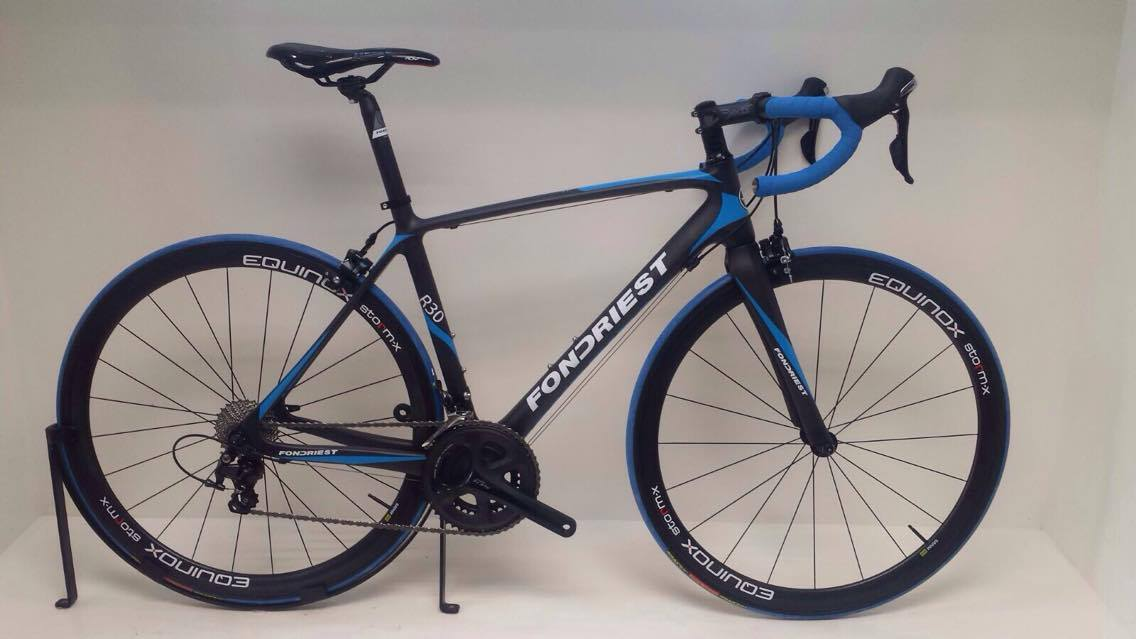 Fondriest R30 Black/Blue