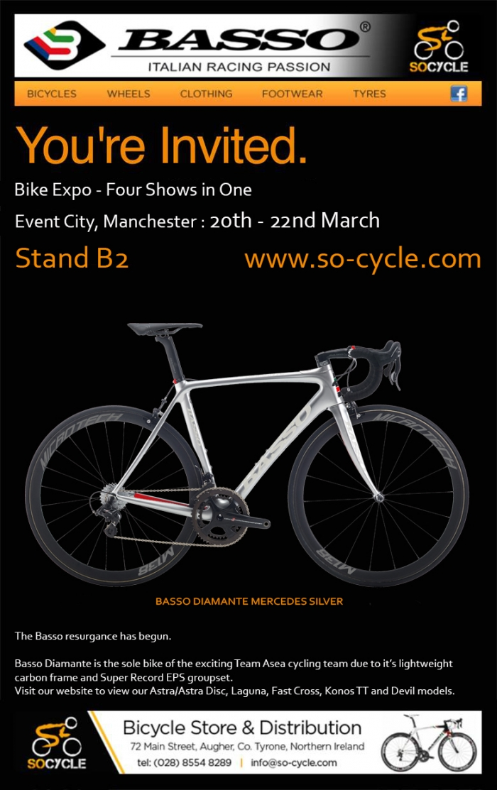 Basso Bike Expo Manchester